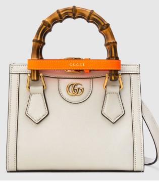 Gucci Diana竹�手袋 看似��� ��聿缓���