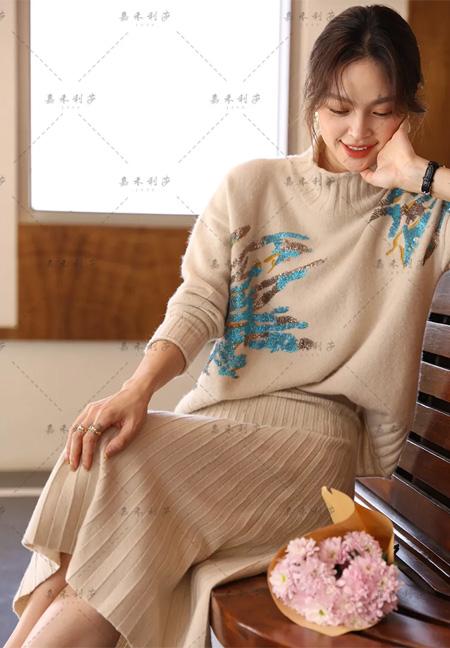 嘉禾利莎 針織的藝術 新工藝新時尚