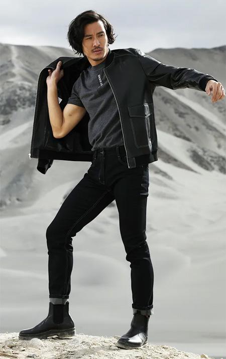 才子 不拘标签定义 时髦狂野 皮衣就是铠甲