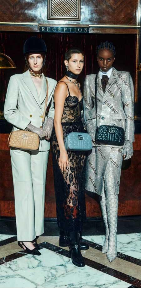 GUCCI古驰重新设计皇家套房对时尚和奢侈有更新见解