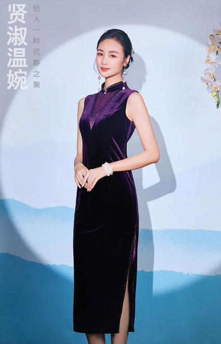 香西旗袍有一種女人味叫絲絨 優雅溫柔