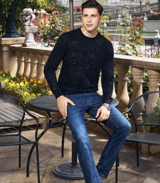 爱迪丹顿男装都市时尚男性的秋季新装