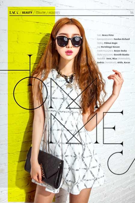 爱蕊崎女装 时尚而略带个性的独特欧日系混搭风格