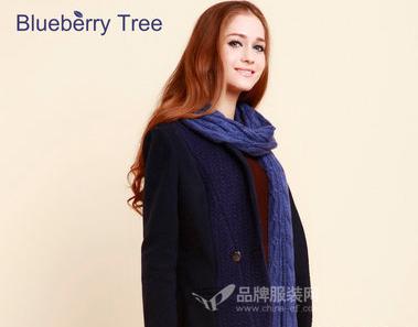 蓝莓树女装2014秋冬新品