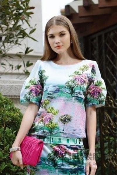 weles威兰西女装2015春夏新品