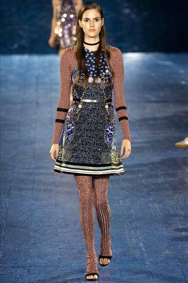 2016春夏伦敦时装周 Mary Katrantzou系列发布