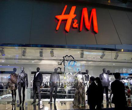 H&M店铺展示