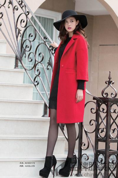 艾米子萱女装2015冬季新品