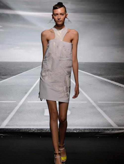 现代后朋克主义 Bernard Chandran 2016春夏高级成衣系列巴黎时装展