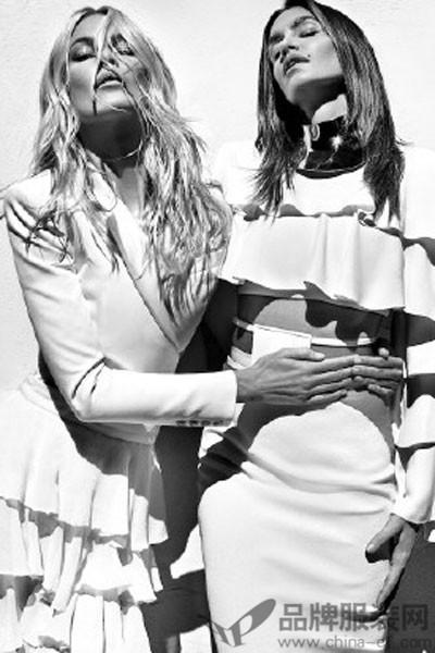 巴尔曼女装2016春夏新品搭配图
