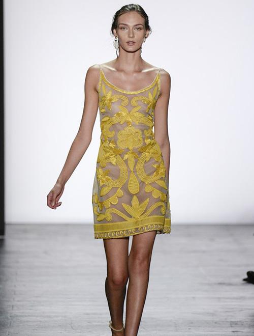 皮草的奢华盛宴 Dennis Basso 2016春夏高级女装纽约时装展