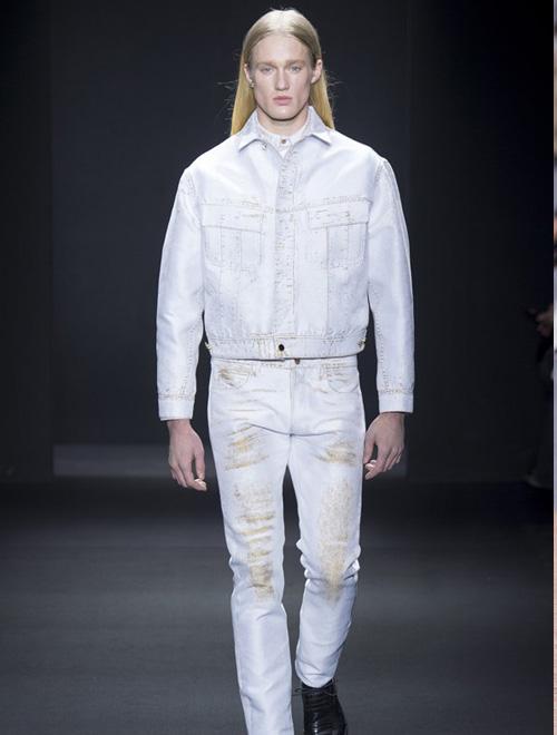 简约优雅 Calvin Klein Collection 2016秋冬高级男装系列米兰男装展