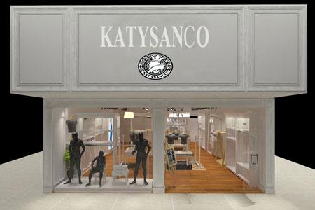 凯帝颂歌KATYSANCO店铺展示
