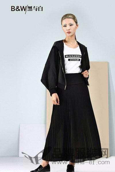 黑与白女装2016春夏新品