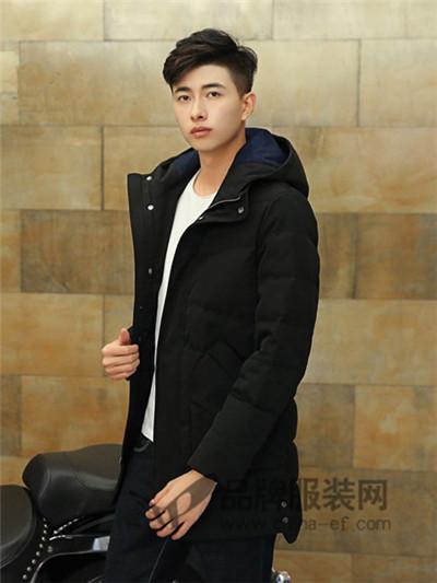 杰克范羽绒服2016秋冬新品