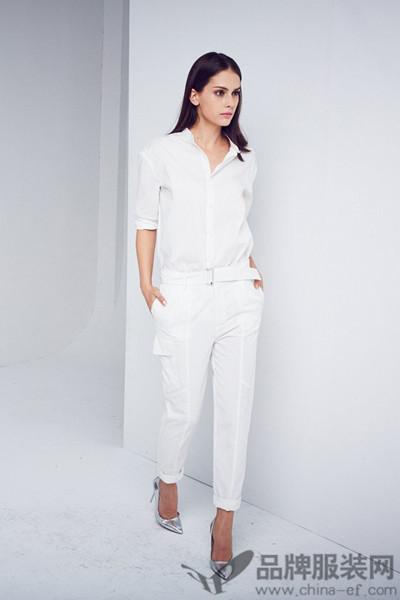 艾蝶女装欧式时尚开衫连体裤