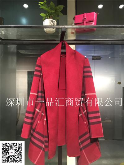 A双面呢大衣品牌女装2016秋冬新品