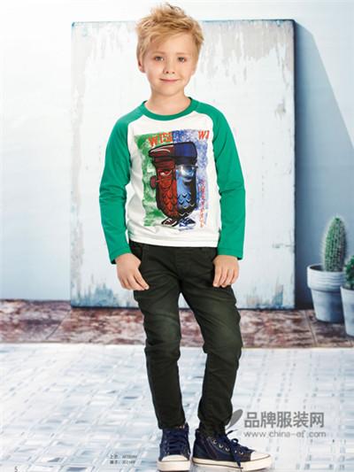 小积木童装 以不同的配搭为儿童创出别树一帜的风格