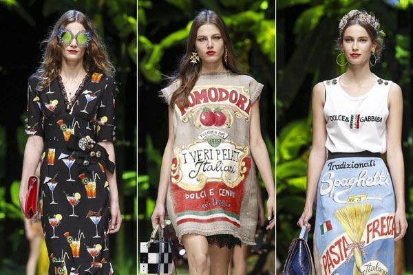 一派热辣的西西里海岛风情 杜嘉班纳 (Dolce&Gabbana) 女装秀 带你亲临2017春夏米兰时装周