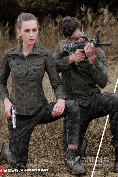 休闲军旅装  舒适自然  战地服装休闲装招商