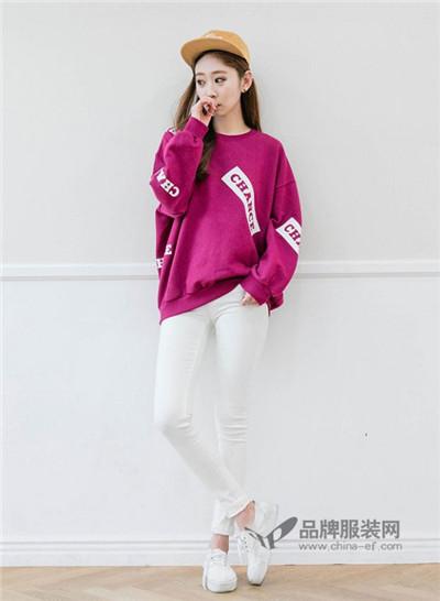 乔可可女装2016秋冬 韩版卫衣