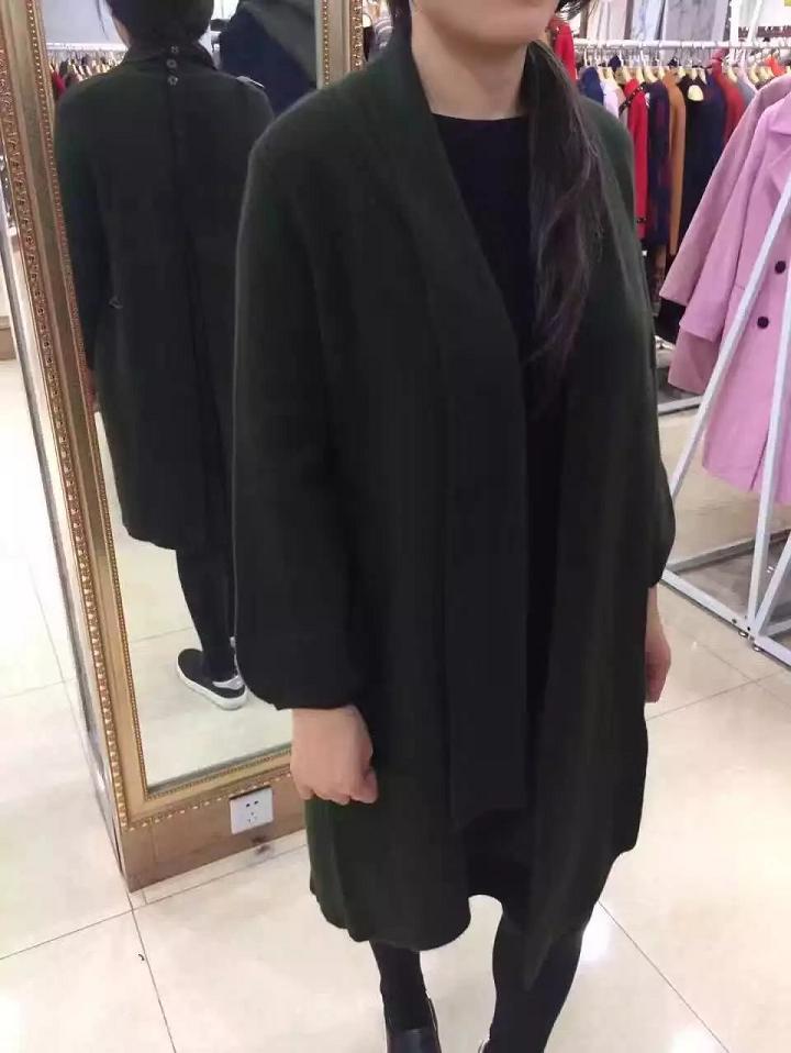 貂绒大衣女装2016秋冬新品