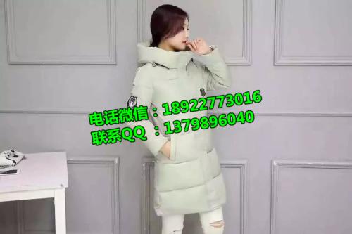 沙河尾货高端棉衣尾货批发时尚爆款中长款羽绒外套低价处理