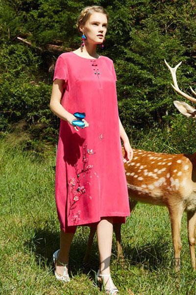 秀蓓儿女装品牌,棉、莫代尔纤维、桑蚕丝、亚麻等纯天然材质