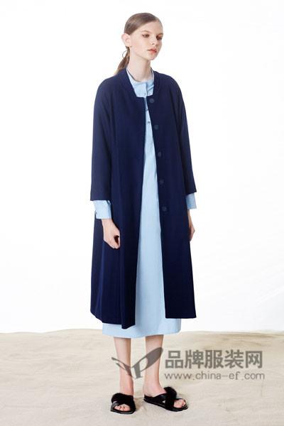 奕色女装2017春夏长款外套