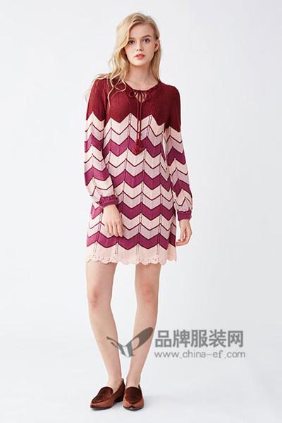 Lily Brown女装2016秋冬连衣裙