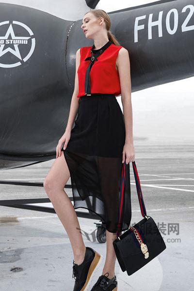 雷索思LEISUOSI女装2017春夏半身裙