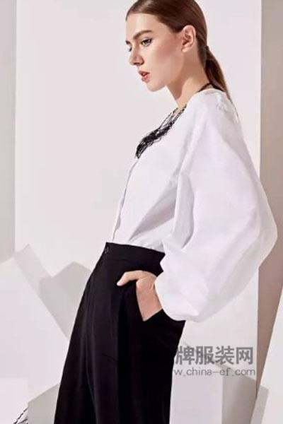 哥邦女装2017春季衬衫