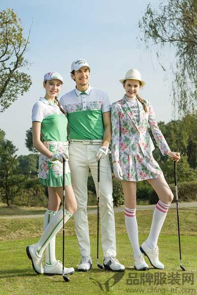 尚约高尔夫休闲装 加之萃取欧洲的时尚个性独特服饰风格