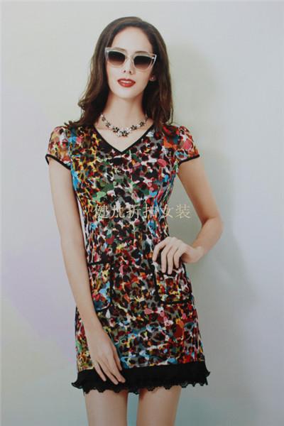 台湾大码女装2016夏季新品