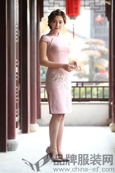 茂盛龙旗袍女装2017春夏新款