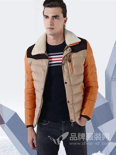 咔宾攻略男装2017秋冬棉衣