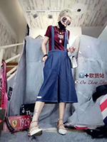 1+欧洲站裙/裤2017秋季新品