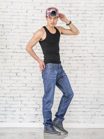 美酷思牛仔 2017新款男士 休闲牛仔 长裤