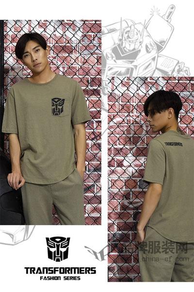 变形金刚男装2017夏季个性街头T恤