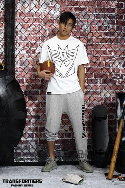 变形金刚男装2017夏季街头个性T恤