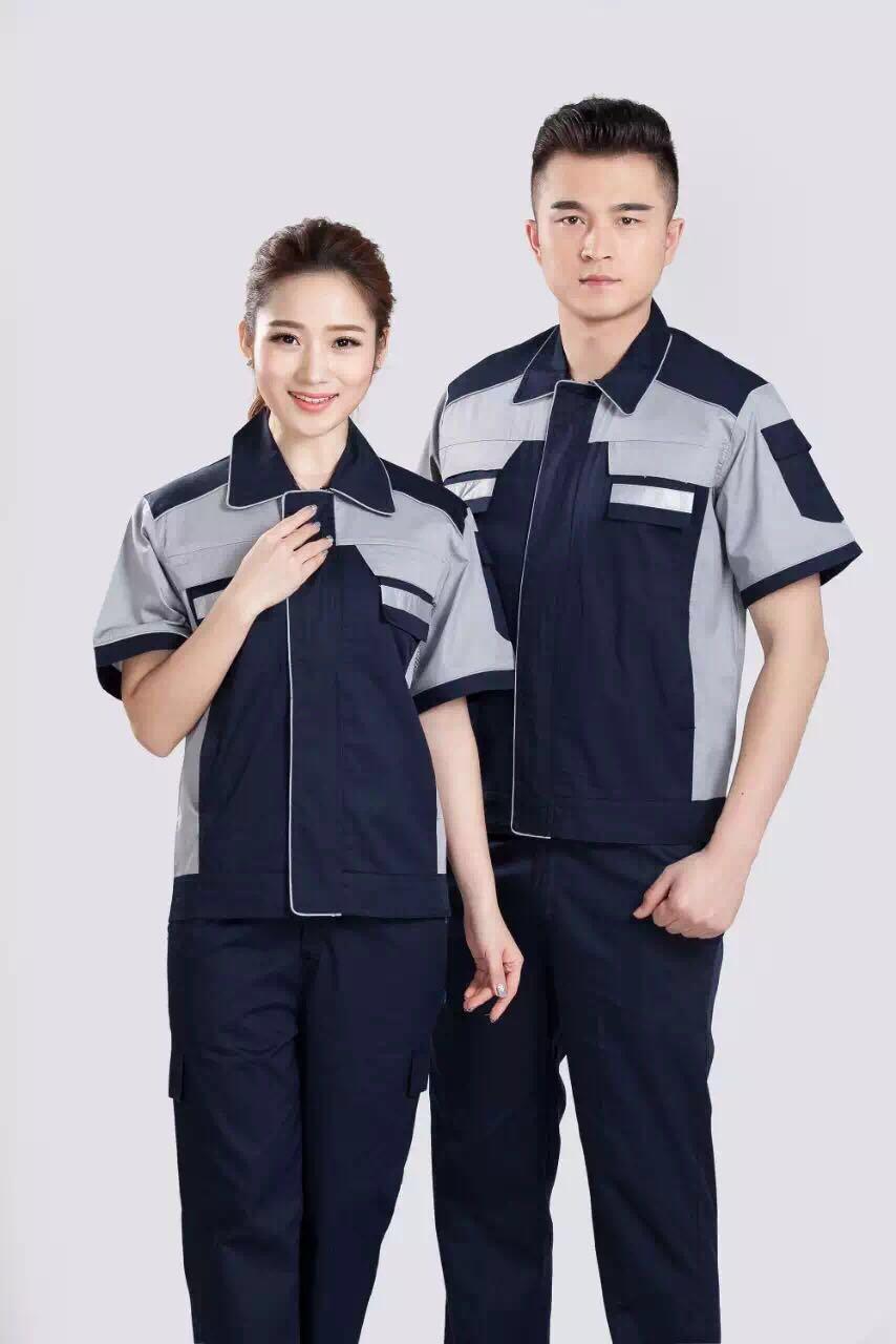 上海凌固工装防辐射2017夏季新品