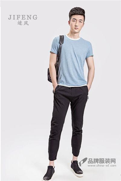 迹风-JIFENG男装2017夏季原宿休闲T恤