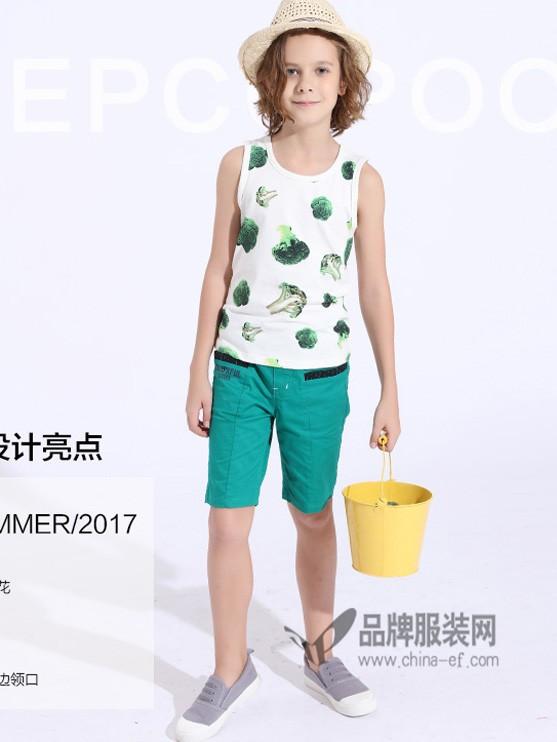 朋库一代童装2017夏季