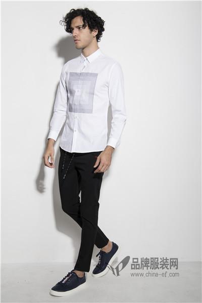 它钴TARGUO商务休闲服饰共有七大类产品,包括:修身衬衣类