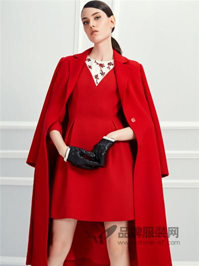 D2M女装2017秋冬成熟长款长款外套