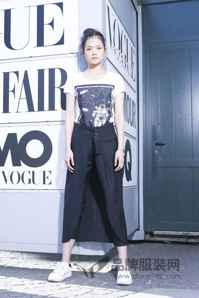 M2稞女装2017夏季快时尚修身裤裙