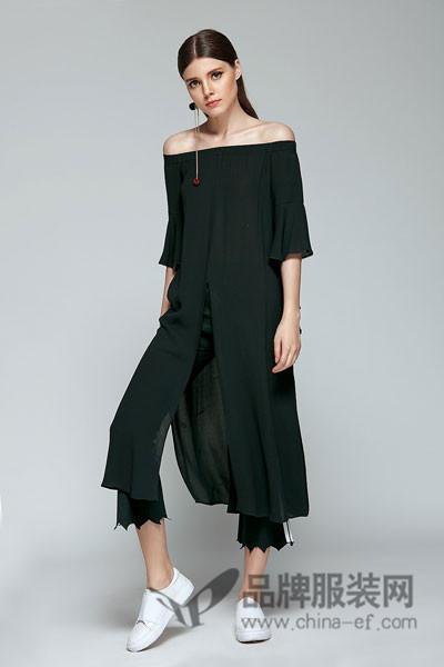 楚阁女装 连衣裙及新型时尚组合套装的独立品类设计见长