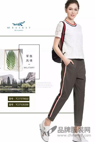 XIIBASKET十二篮女装2017秋季运动宽松T恤