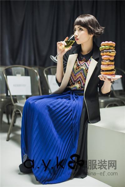 a.y.k | indu homme | K*facto.2y | miss k女装2017秋冬商务撞色小西装