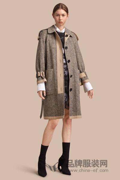 ITS'iB女装2017秋季时尚中长款外套